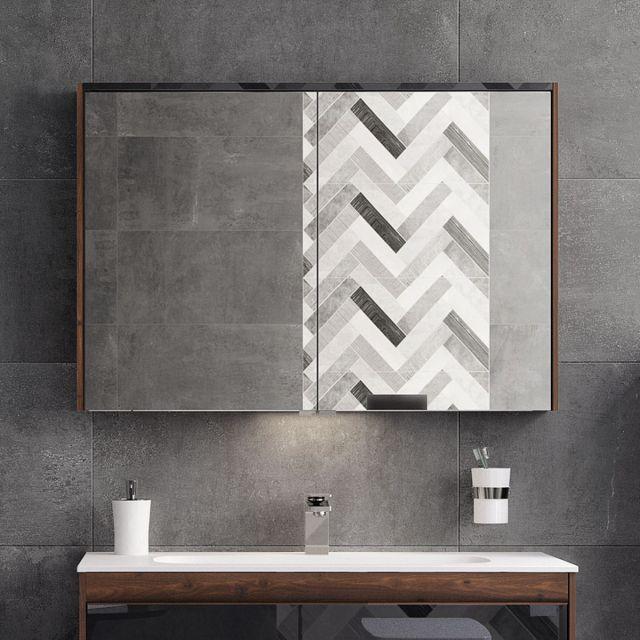 VitrA M-Line Infinit 100cm Mirror Cabinet - 58502