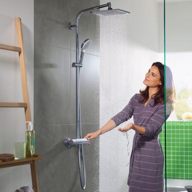 hansgrohe Crometta E 240 1jet Showerpipe - 27271000