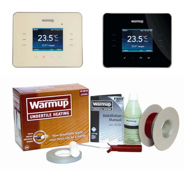 Warmup DWS400 Loose Wire Underfloor Heating Kit