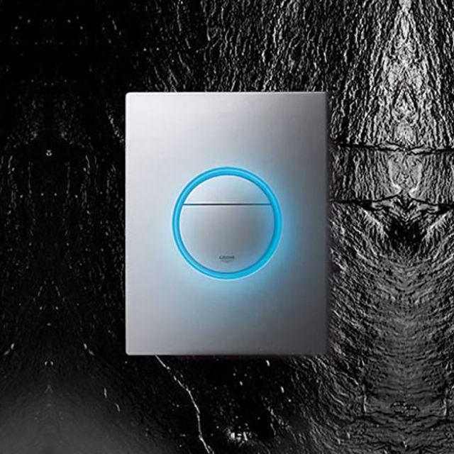 Grohe Nova Light LED Dual Flush Button
