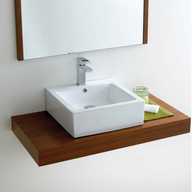 Phoenix Deep Square Counter Top Bathroom Basin VB039