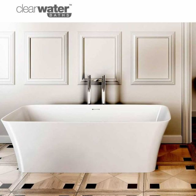 Clearwater Palermo Natural Stone Freestanding Bath