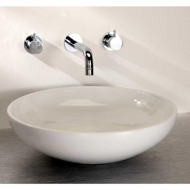 Finwood Designs Thin Tondo Round Bathroom Basin : UK Bathrooms