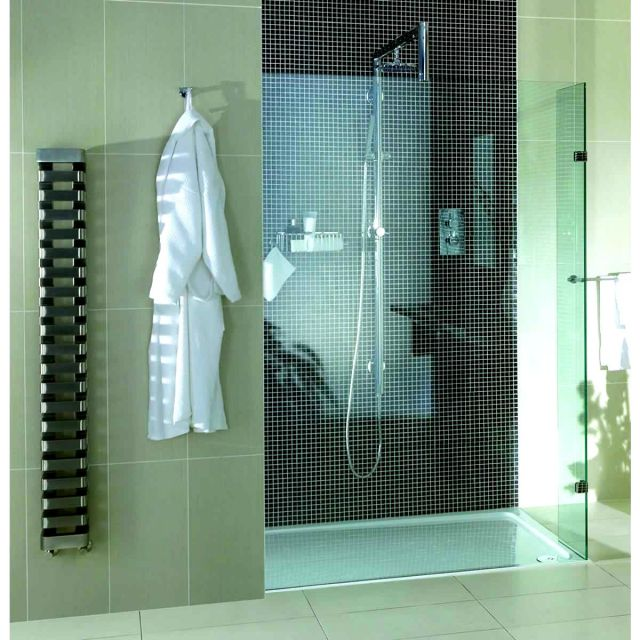 Aqata Spectra Twin Entry Shower Screen with Twin Fixed Return Panels SP450