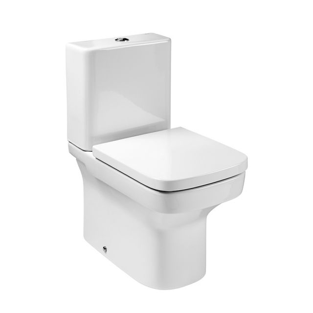 Roca Dama-N Compact Close Coupled Toilet (Closed Back)