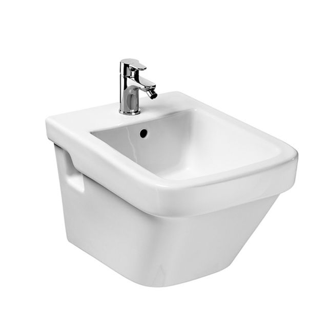 Roca Dama N Compact Wall Hung Bathroom Bidet Uk Bathrooms
