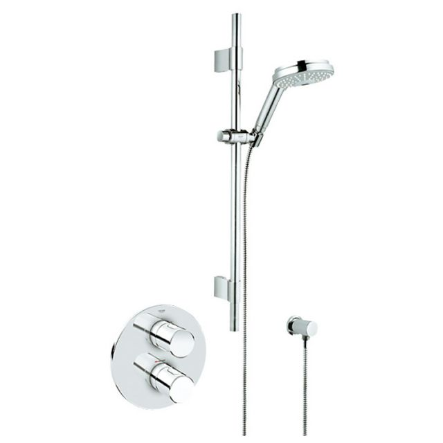 Grohe Grohmaster G3000 Cosmo BIV Concealed Shower Kit - 34278000