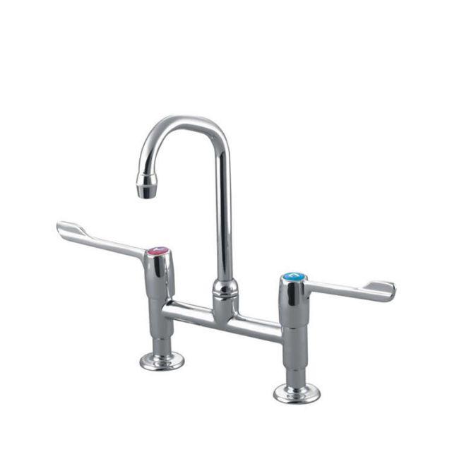 Armitage Shanks Markwik Dual Control Pillar Basin Mixer Tap