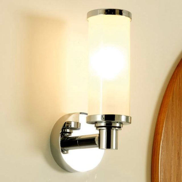 Imperial Carlyon Single Wall Light with Glass Shade