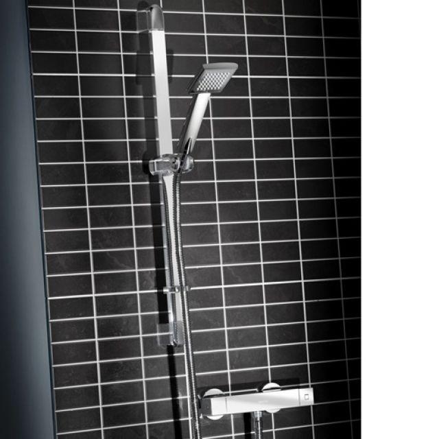Bristan Quadrato Thermostatic Exposed Shower Kit - QD SHXSMFF C