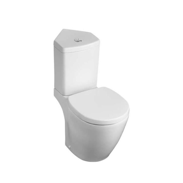 Ideal Standard Concept Space Corner Close Coupled Toilet