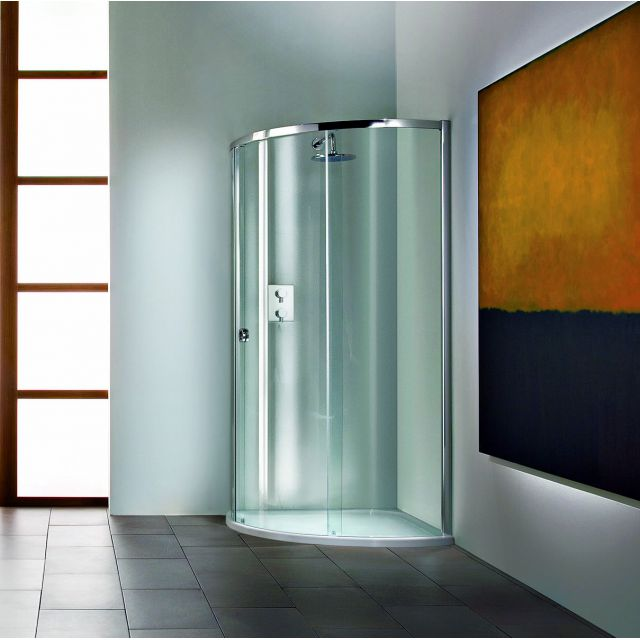 Matki New Radiance Curved Surround with Slimline Shower Tray