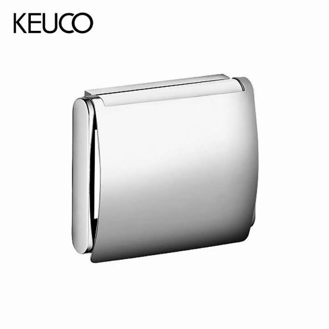 Keuco Plan Toilet Paper Holder with Lid