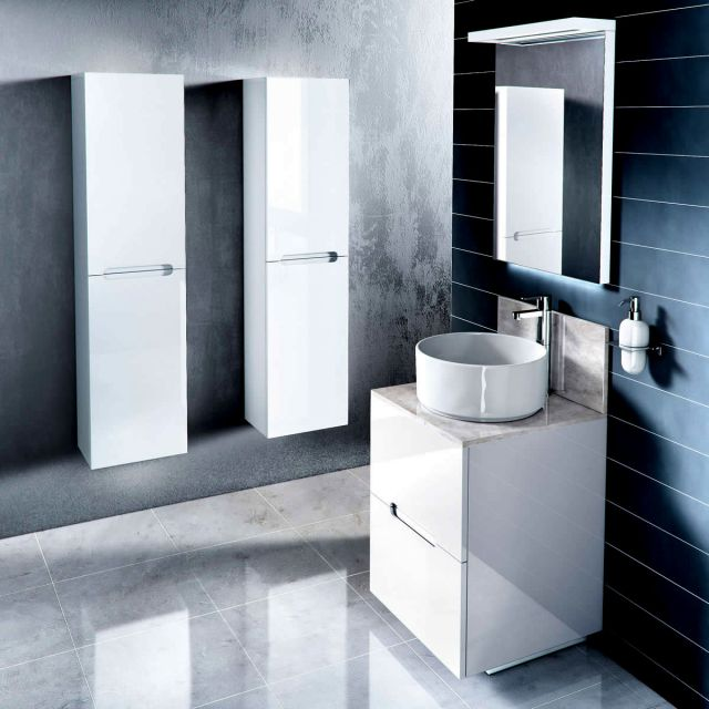 cabinets d500 freestanding vanity unit with marble top uk bathrooms