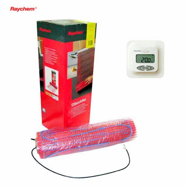 Raychem T2Quicknet 90 Underfloor Heating Mat Set