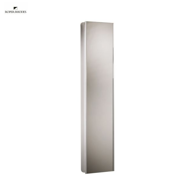 Roper Rhodes Reference Tall Mirror Glass Door Cabinet