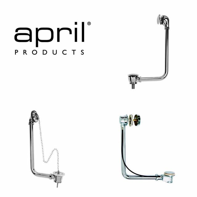 April Exposed Bath Waste Overflow Sets
