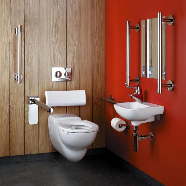 Armitage Shanks Contour 21 Wall Hung Doc M Pack Uk Bathrooms
