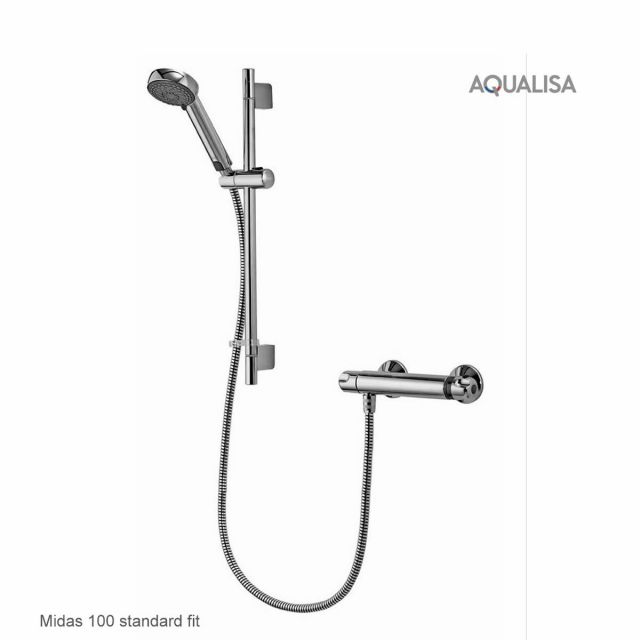 Aqualisa Midas Exposed Valve Shower Systems