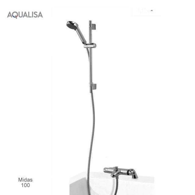 Aqualisa Midas Thermostatic Bath Shower Mixer Set