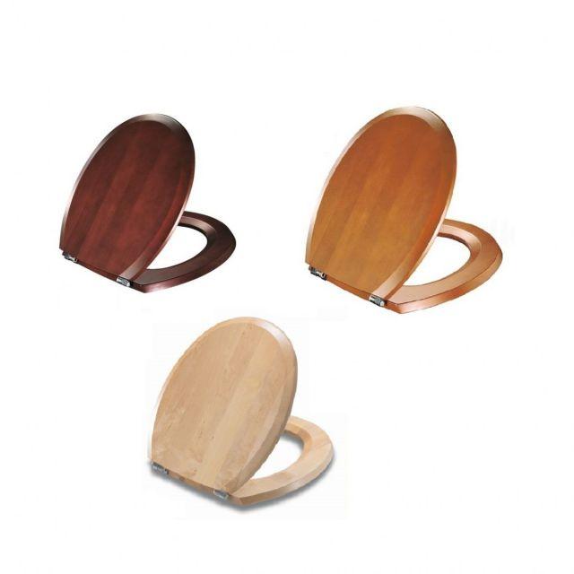 pressalit selandia luxury wooden toilet seat uk bathrooms. Black Bedroom Furniture Sets. Home Design Ideas