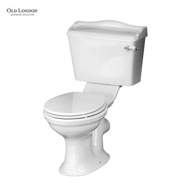 Old London Chancery Close Coupled WC with Seat