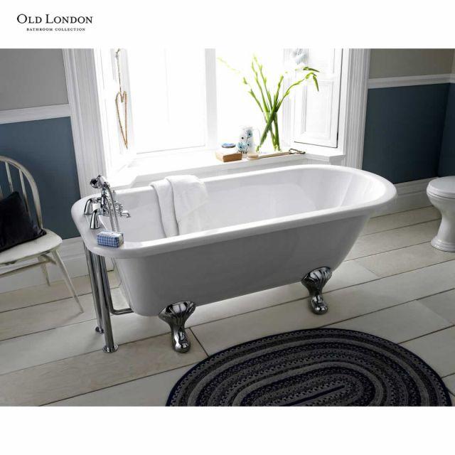 Old London Barnsbury Single Ended Freestanding Bath