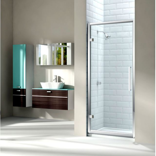 Merlyn Series 8 Hinged Shower Door