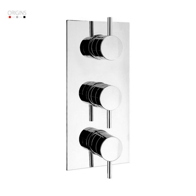 Origins Fusion Thermostatic Shower Valve