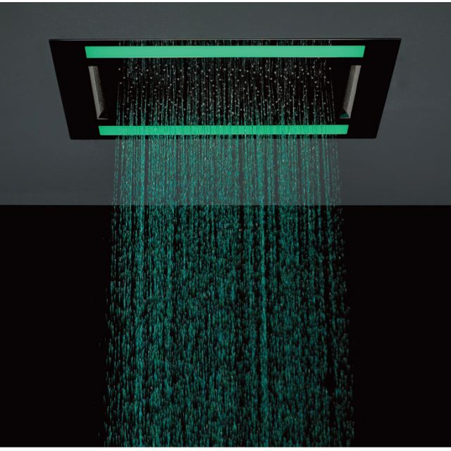 Crosswater Rio Revive Shower Head with LED Lighting
