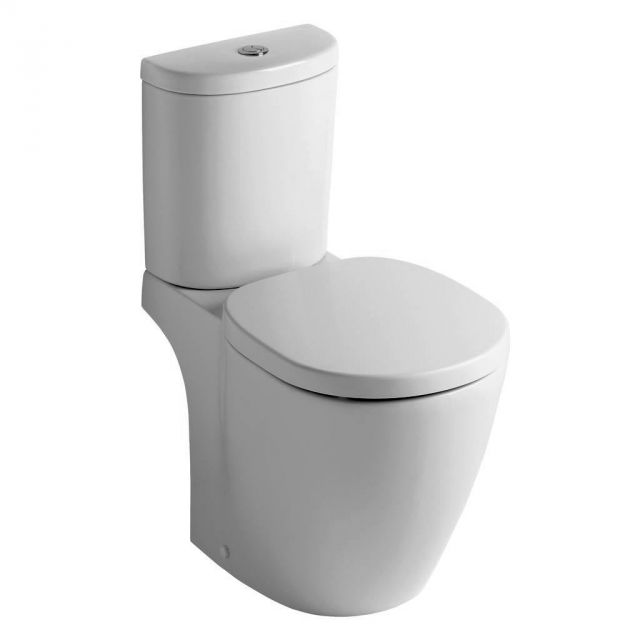 Ideal standard concept space arc close coupled toilet uk bathrooms - Small toilets for tight spaces concept ...