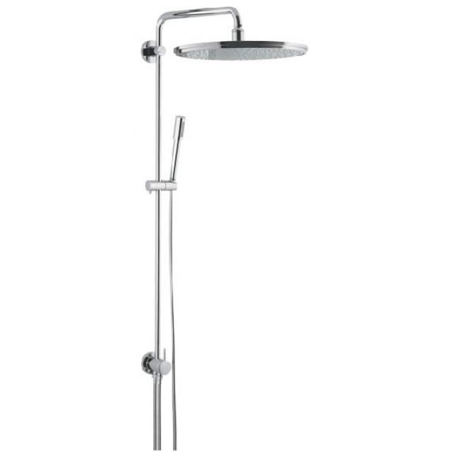 grohe rainshower system 400 shower with diverter uk bathrooms. Black Bedroom Furniture Sets. Home Design Ideas