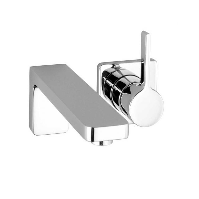 Dornbracht Lulu Wall Mounted Single Lever Basin Mixer Tap - 36812710-00