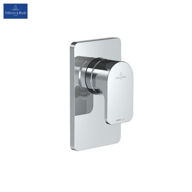 villeroy and boch cult concealed shower mixer valve uk bathrooms. Black Bedroom Furniture Sets. Home Design Ideas