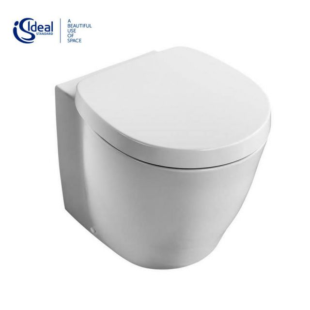 Ideal Standard Concept Freedom XL Back-to-wall Raised Height Toilet