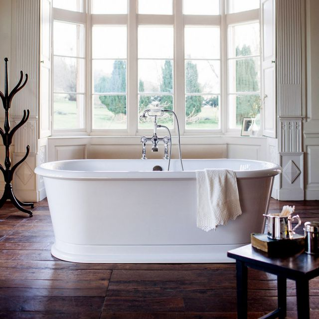 Burlington London Round Soaking Bath Tub