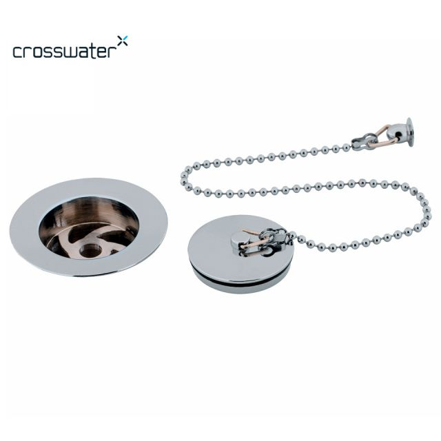 Crosswater Plug and Chain Basin Waste