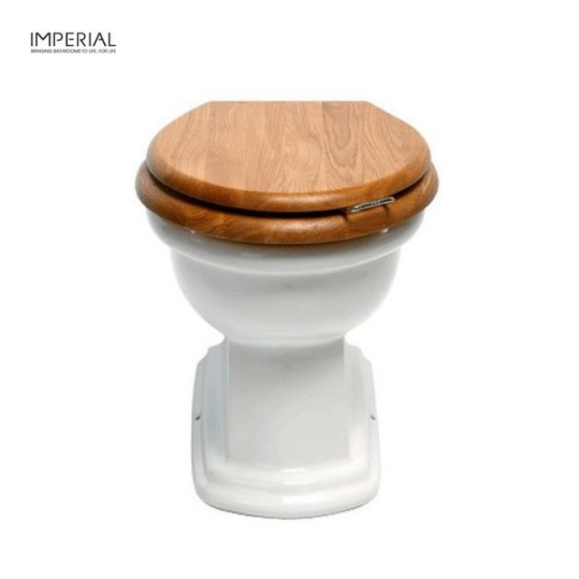 Imperial Bergier Floor Standing Back to Wall Toilet