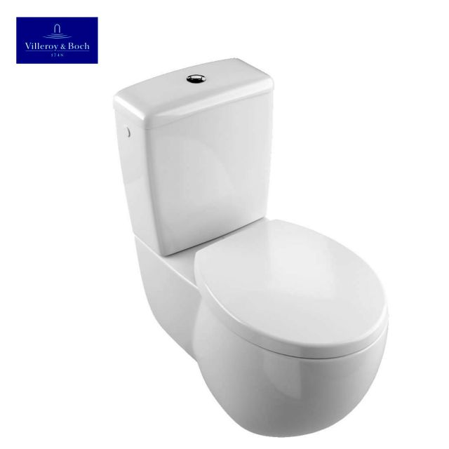 villeroy boch aveo new generation close coupled toilet. Black Bedroom Furniture Sets. Home Design Ideas