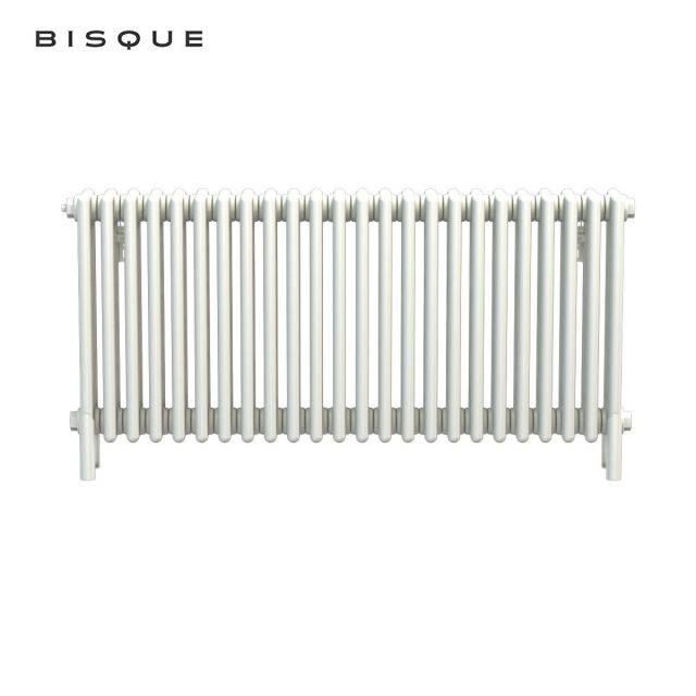Bisque Classic 4-Column Deep Radiator with Feet 4F-60-120