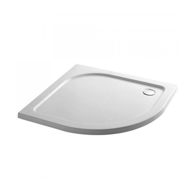 April 45mm Quadrant Stone Resin Shower Tray