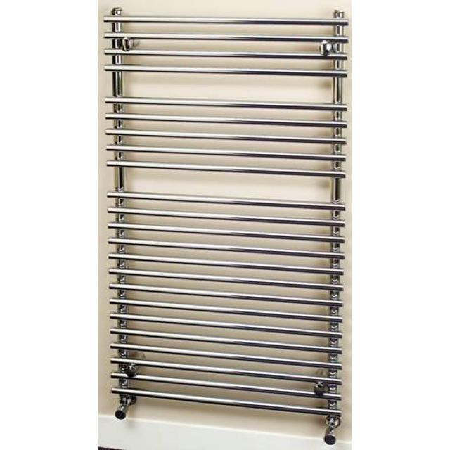 Apollo Pavia Tube on Tube Chrome Towel Warmer