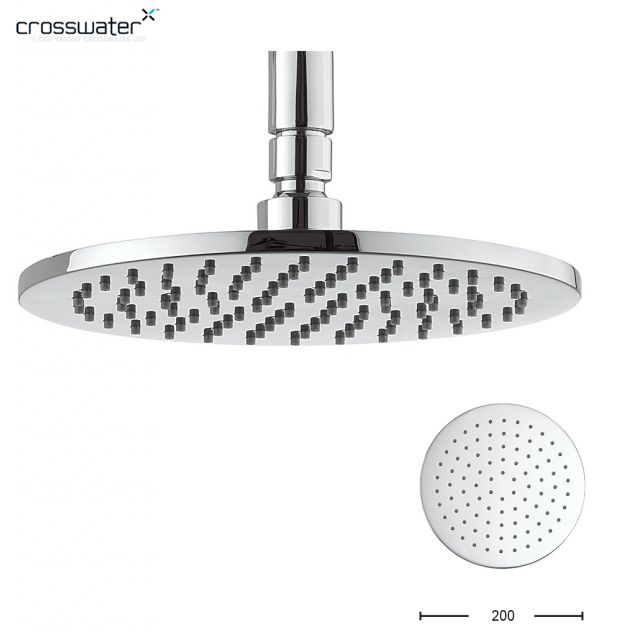 Crosswater Contour Fixed Shower Head