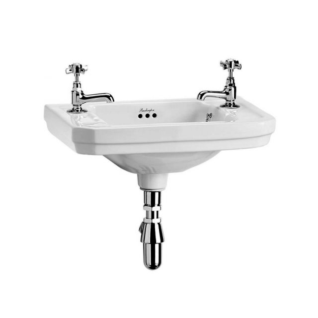 Burlington Corner Sink : Burlington Victorian Cloakroom Basin : UK Bathrooms