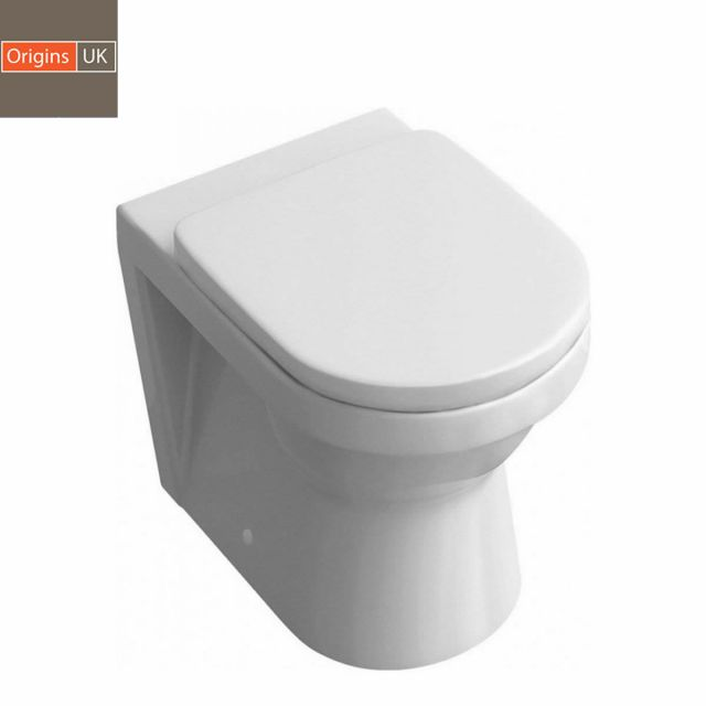 Origins Curve Back to Wall Toilet