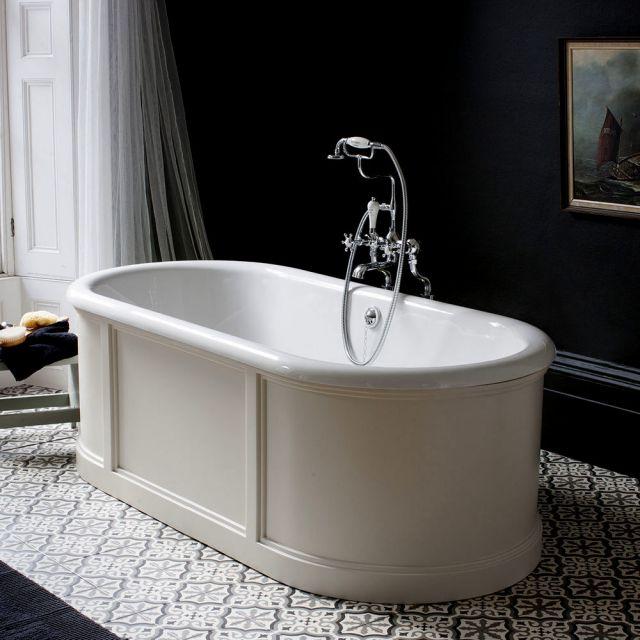 Burlington London Freestanding Bath with Surround