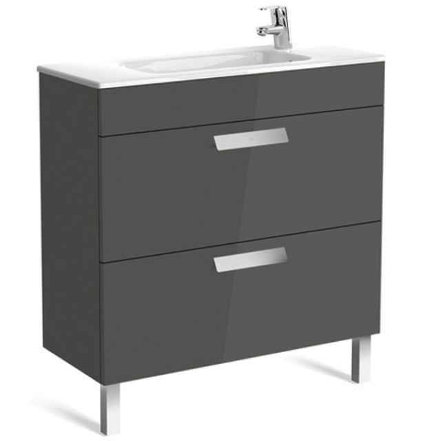 Roca Debba Compact 2 Drawer Vanity Unit with basin