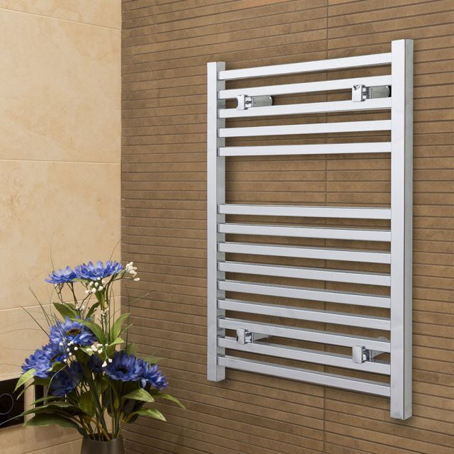 Origins Straight White Towel Radiator