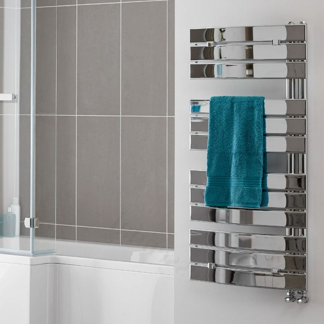 Aries Curved Towel Warmer
