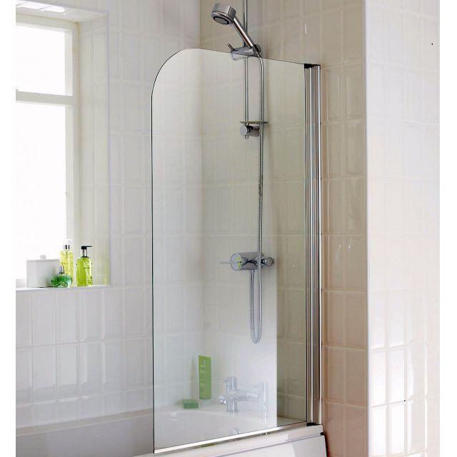 Origins Element 750 X 1300mm Bath Screen Uk Bathrooms
